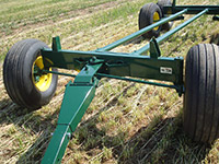 Diller produce growers deckover bin trailer